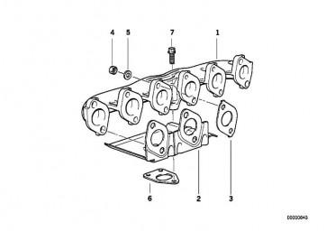 Schraube M10X25          1er 3er 5er 6er 7er X3 X5 X6  (11652243402)
