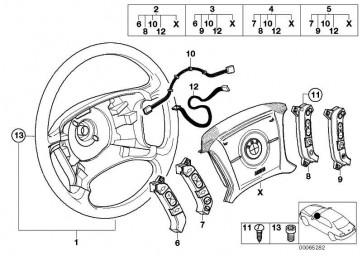 Adapterleitung Airbagmodul  X5 X3  (61316902140)