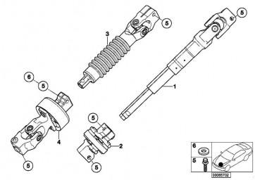 Torxschraube M8X33           1er 3er 5er 6er 7er X1 X3 X5 X6 Z4  (32306778609)