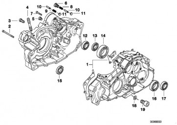 Wellendichtring Abtriebswelle 25X40X7         K15 R13 E169  (11112343018)
