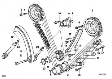 Torxschraube M10X60          5er 7er 8er X5 Z8  (11311741254)