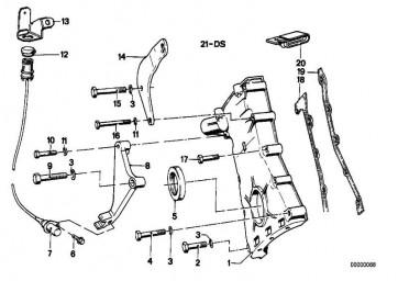 Sechskantblechschraube ST4,8X13-C      3er 5er 6er 7er  (07119916813)