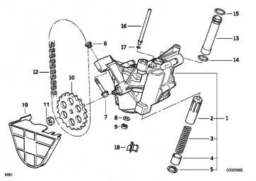 Sechskantschraube selbstsichernd M8X45-Z1        5er 7er 8er X5  (11417508400)