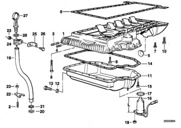 Ölniveausensor  1er 3er 5er 7er X1 X3 X5 Z3 Z4 Z8  (12617508003)