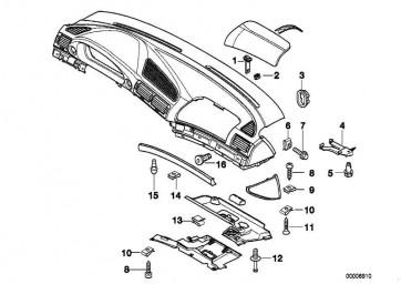 Kunststoffmutter M5              7er  (51458165253)