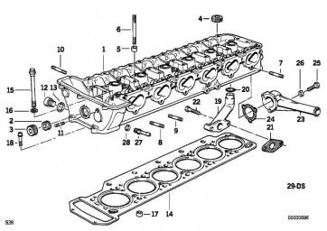 Verschlussschraube M14X1,5-ZNS 3er 5er Z3 Z8  (07119900445)