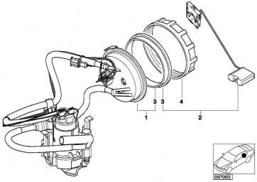 Dichtgummi  3er 5er X5 Z8 MINI  (16141182905)
