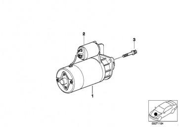 Austausch Anlasser 1,4 KW 3er 5er 7er X3 Z4  (12412354693)