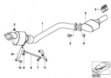 Sechskantschraube M8X20- 8.8-ZNS3 1er 3er 5er 6er 7er X3 X4 X5 X6 Z4 MINI  (07119906119)