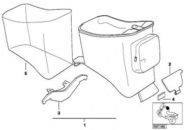 Regenhaube für Tankrucksack F650GS/GS-DAKAR R13  (71607677289)