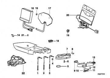 Schraube 3,9X18 3er 5er X5 X6 Z8  (52108119279)