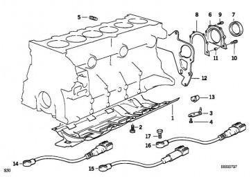 Sechskantschraube mit Scheibe M6X12-Z3        3er 5er 7er 8er Z3  (07119915013)