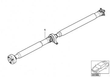 Gelenkwelle Schaltgetriebe L=1608MM        3er  (26111229551)