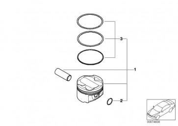 Satz Kolben (00) 3er Z3 Z4  (11257834018)