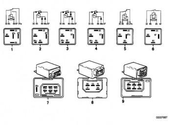 Wisch-Wasch-Intervallsteuergerät  3er 5er 7er  (61311367391)