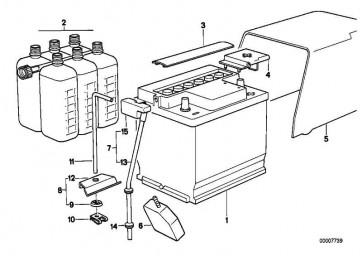 Batteriehalter  5er  (61211372478)