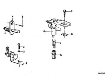 Schalter Handbremskontrolle  1er  3er 5er 6er 7er M1 X1 X3 X5 Z1 Z3 Z8  (61311369771)