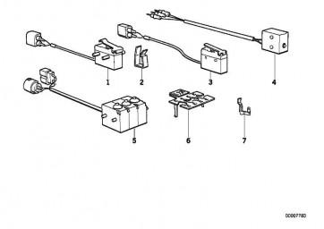 Mikroschalter links  7er 5er  (61311390885)