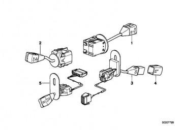 Knopf Geschwindigkeitsregelungsschalter (DEUTSCH)       5er 7er 8er  (61311382074)