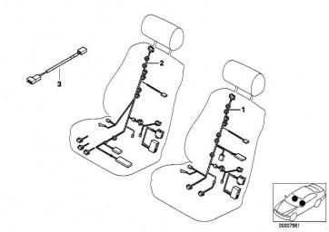 Kabelsatz Sitz Fahrerseite  5er  (61129142864)