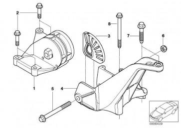 Anschlagpuffer Getriebeaufhängung  MINI  (22116754183)