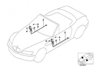 Kabelsatz Beifahrerseite (61128400920)