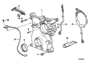 Zylinderschraube M6X16           1er  3er 5er 6er 7er 8er M1 X1 X3 X5 X6 Z1 Z3 Z4 Z8 MINI  (07129905536)