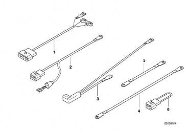 Kabelsatz-Leerlauf/Öldruck (61112346494)