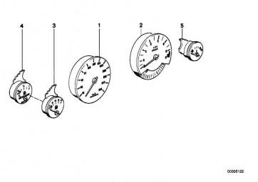 Tachometer KM/H            7er 5er  (62121378572)
