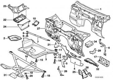 Batterieträger  Z3  (51718397109)