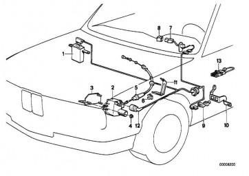 Knopf Geschwindigkeitsregelungsschalter (ENGLISH)       7er 5er  (61311378748)