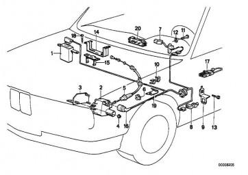 Schalter Geschwindigkeitsregelung (DEUTSCH)       3er  (61311385177)