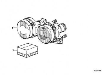 Doppelscheinwerfer Gelb rechts  3er  (63121386718)