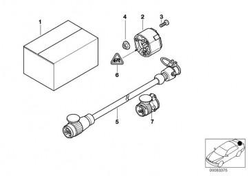 Satz mechanische Anbauteile  5er  (71601094441)