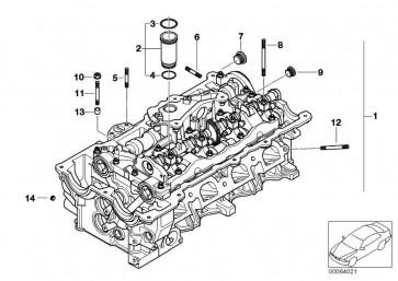 Zylinderkopf mit Ventiltrieb  1er 3er  (11127581140)