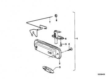 Kabelsatz Motorraumleuchte  3er  (61121360063)