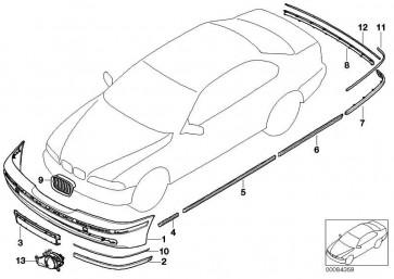 Buchsengehäuse schwarz 2 POL. 1er 3er 5er 6er X1 X3 X5 X6 Z4 MINI  (61136907388)