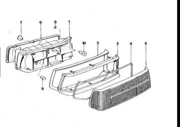 Rahmen links  M1  (63212161219)