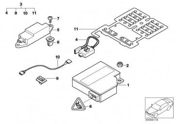 Kabelsatz Sitzbelegungserkennung  3er X3 X5 Z3  (52108240500)