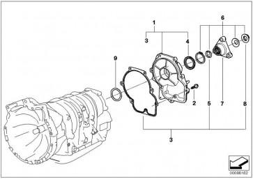 Reparatursatz Abtriebsflanschmutter  5er 3er Z3  (24217513337)