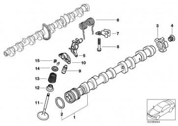 Innensechskantschraube M14X1,5X19      5er 6er 7er X5  (11367539927)