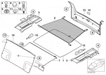 Verkleidung Gepäckraumboden vorne GRAPHIT (51472498583)