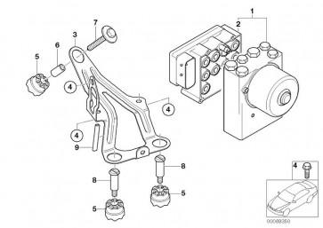 Austausch Reparatursatz Steuergerät ABS (34522460466)