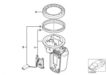 Kraftstoffpumpe mit Füllstandsgeber  MINI  (16146765121)