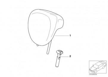 Kopfstütze Leder S9PN,T6PN PANTH (52207066735)