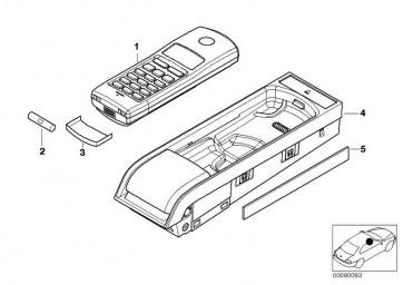 Ejectbox Telefonhörer Netz GSM SIEMENS BIT II  3er 5er 7er X5  (84116914932)