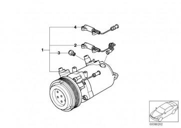Klimakompressor  3er X3  (64526915388)