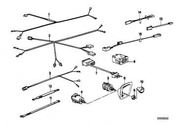 Adapterleitung HIFI/4-KANAL 3er 7er 5er  (61101388934)