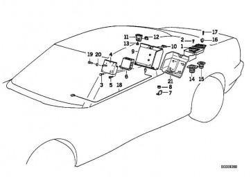 Halter Verstärker Hifi-System  8er  (65121392205)