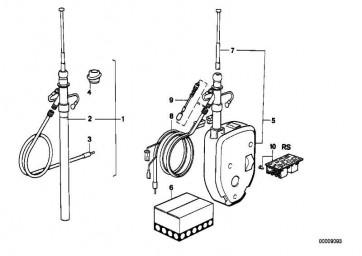 Teleskop Chrom  3er 5er  (65211376010)